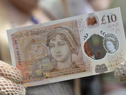 Britain Bank Note Jane Austen (2)