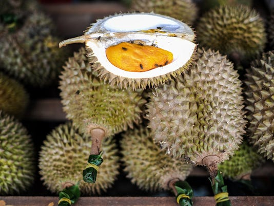 MALAYSIA-FRUIT-DURIAN