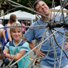Scrapfest in Lansing's Old Town draws a crowd Saturday