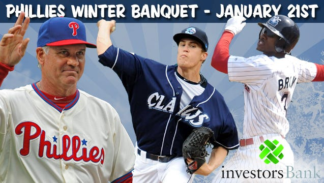 21st Annual Phillies Winter Banquet