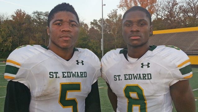 Andrew, left, and David Dowell were stars at Lakewood (Ohio) St. Edward High.
