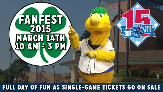 BueClaws FanFest set for 10 am to 3 pm on Saturday, March 14.