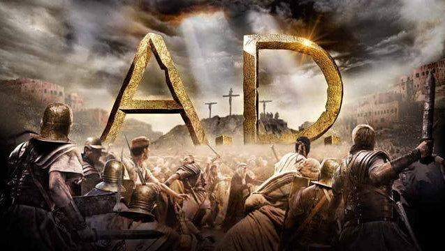 """A.D. """"A 12 week study through the Book of Acts"""" Free showing on the big screen every Sunday at 7:45PM - Calvary Lighthouse"""