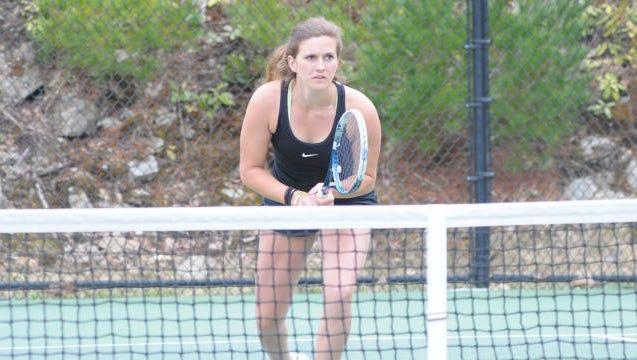 Mackenzie LaSure is a junior for the Appalachian State tennis team.