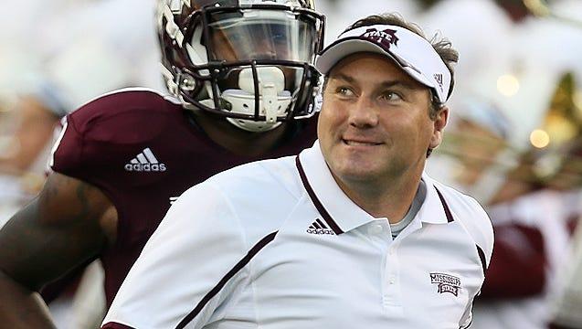 Mississippi State coach Dan Mullen