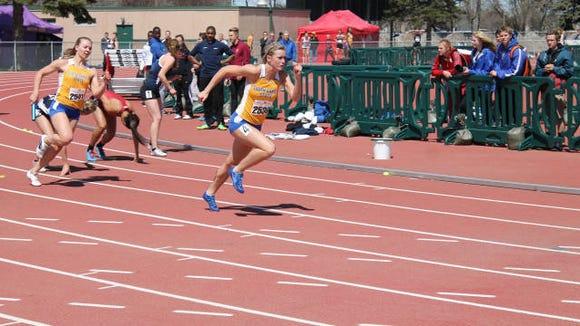 SDSU track set several records at the Summit League championships.