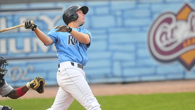Tuscola graduate Cody Stubbs is a first baseman for the Wilmington (Del.) Blue Rocks.