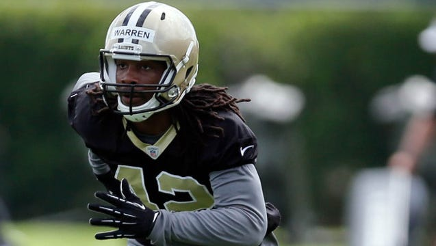 Montgomery native Pierre Warren will look to help the New Orleans Saints beat the defending Super Bowl champion New England Patriots in a preseason game Saturday at Mercedes-Benz Superdome.