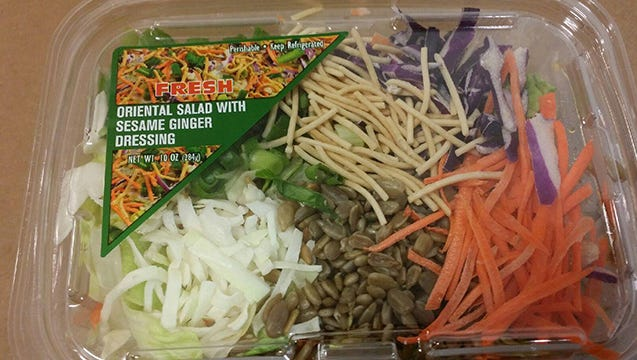 Phoenix-based Papa John's Salads and Produce Inc. is voluntarily recalling one of its salads due to possible listeria contamination.