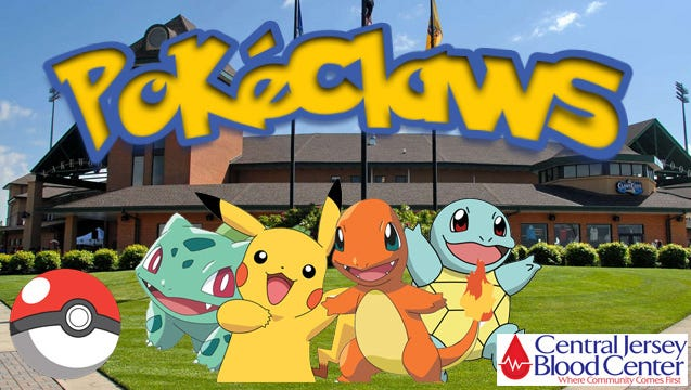 BlueClaws set to host PokeClaws night on Thursday at FirstEnergy Park.