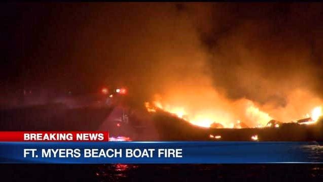Lee deputies are trying to figure out what caused a boat explosion near Fort Myers Beach early Friday morning.