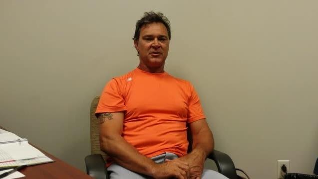 Miami Marlins manager Don Mattingly