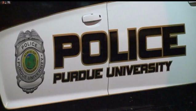 Purdue police car.