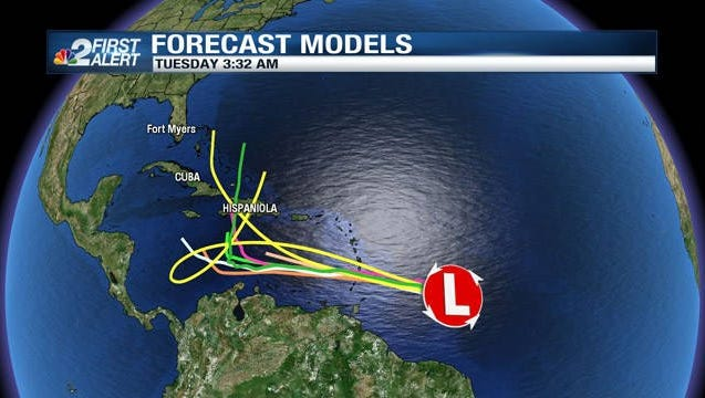 A large tropical wave heading for the Caribbean Sea will likely become a named tropical system later this week.