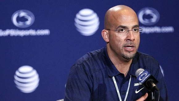 Is James Franklin on the coaching hot seat? Jim Seip