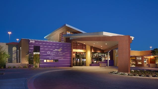 The Grand Canyon University Hotel and Restaurant.