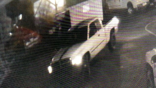 The vehicle police say was used in a burglary attempt in Brooks Friday, March 3, 2017.