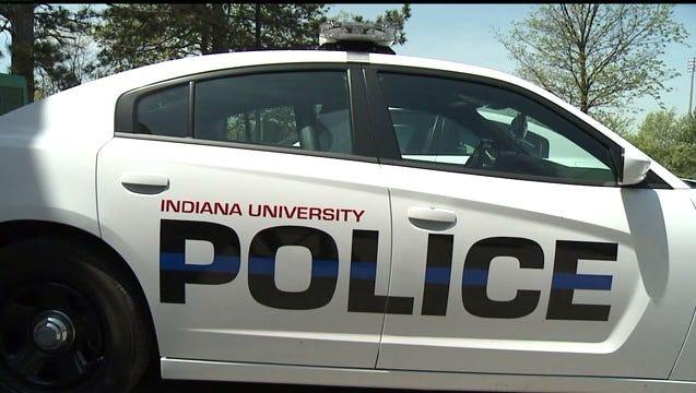 Indiana University police car.