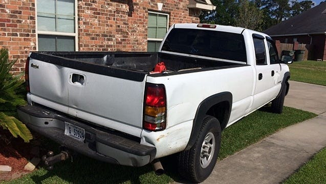 Truck allegedly stolen by a Mississippi escaped inmate.