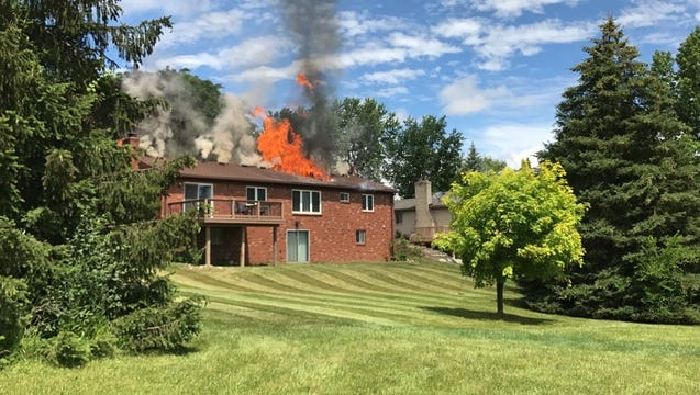 Significant damage was done, but no one was hurt, in this fire on Smithfield Street Friday.