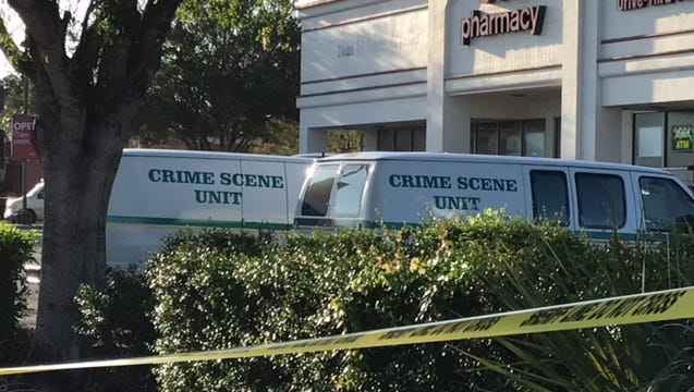 The Lee County Sheriff's Office investigated a homicide at the CVS pharmacy, located at 14411 Palm Beach Boulevard in Fort Myers.
