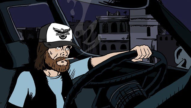 """Mike Judge's animated country music series """"Tales from the Tour Bus""""  premieres Friday on Cinemax."""