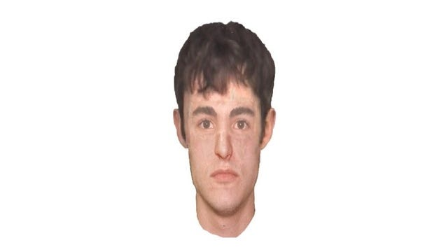 A sketch of the suspect in a Branson kidnapping.
