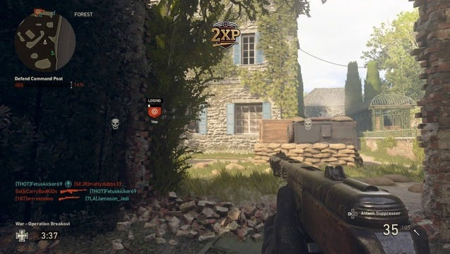 """A scene from """"Call of Duty: WWII"""""""