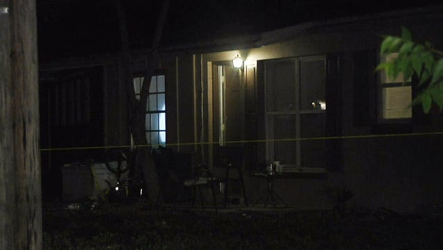 Deputies said someone fired several shots into the home on Beth Streetjust north of Titusville March 28, 2018.