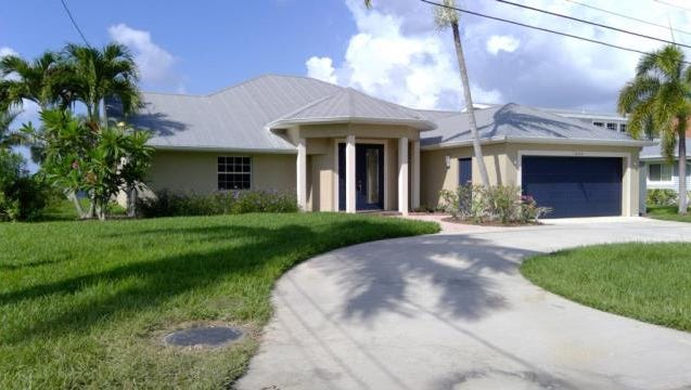 This home at 1040 Dolphin Drive, Cape Coral, recently sold for $1.42 million.