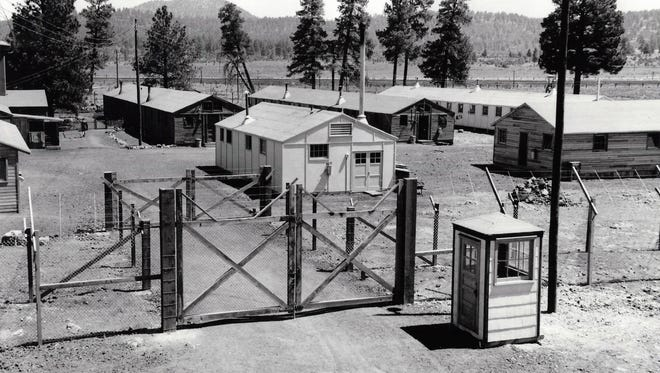 Due to a shortage of workers, 250 Austrian POWs were held at Navajo Ordnance Depot and assigned various maintenance tasks.