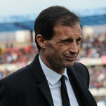 Massimiliano Allegri led AC Milan to the 2010-11 Serie A title.