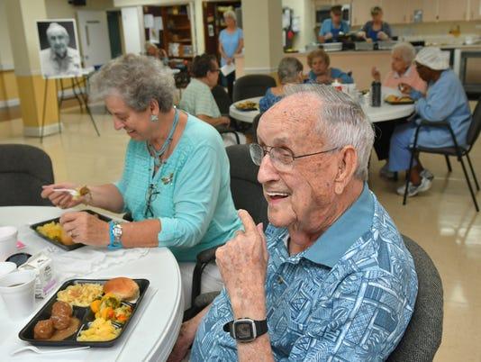 Henry Thomas turns 102