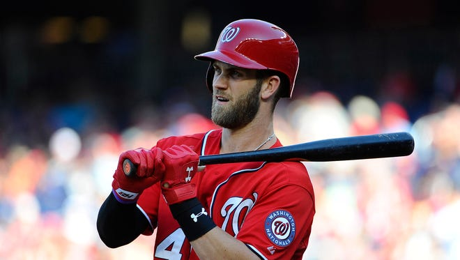 Bryce Harper is the first player ever to combine at least 42 homers and 124 walks in one season by age 22.