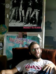 Ethan Rose, owner of Funky Frankenstein Records, uses