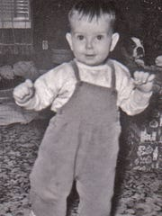 Billy Jones when he was about 2 years old.