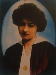 An undated photo of Tessie McNamara, heroine of the