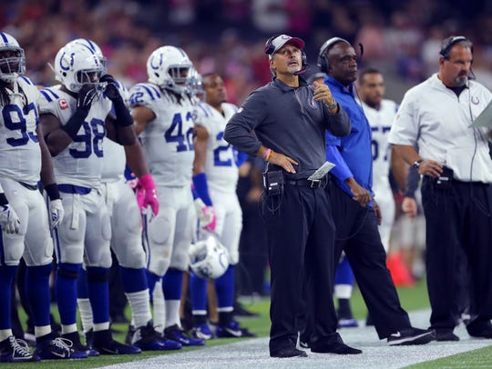 Chuck Pagano led the Colts to 16 consecutive wins over