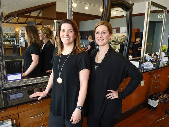 Katie Schmitz and Steph Lewis, owners of Daylily Spa