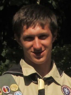 Eagle Scout Ezra Evans, of Watkins Glen.