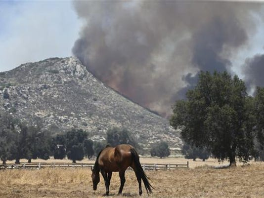 Western Wildfires Cal_Robl