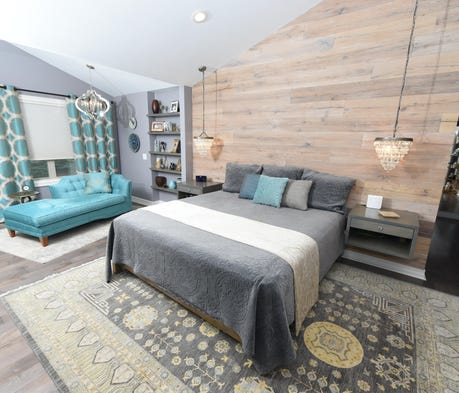 Designers, homeowner add color and detail to space