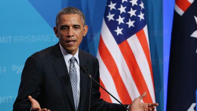 President Obama in Australia.