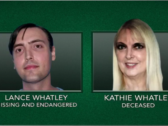 Kathie Whatley was found near her partially submerged