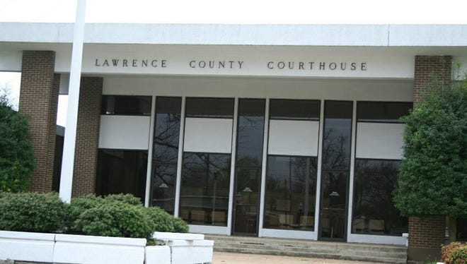 Lawrence County Courthouse.