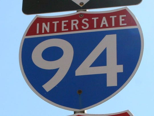Sign for I-94.