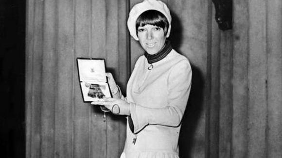All hail Mary Quant, mother of the miniskirt. Shown here in November 1966, the British designer celebrates her 80th birthday on Feb. 11.