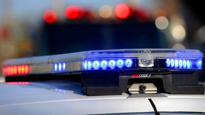 Police light rack