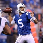 Colts release Josh  Freeman, now need a QB