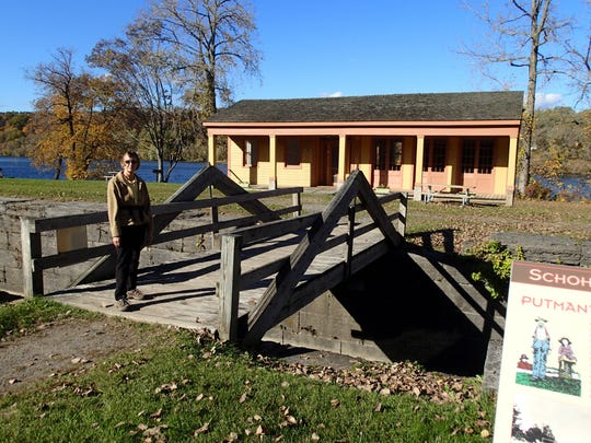 The Putnam Lock store at the Schoharie Crossing Historic Site in Fort Hunter, N.Y. Canal stores were located along regular intervals on the Erie Canal to provide boat crews and passengers with the essentials during journeys that could last up to seven days or more. Reed used the Erie Canal to travel from Buffalo to Albany on his return to Vermont.